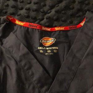 Dickies scrub top 3X Navy soft
